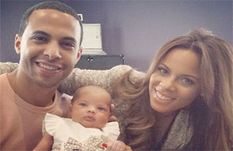 The Former JLS Singer Is Married To Rochelle